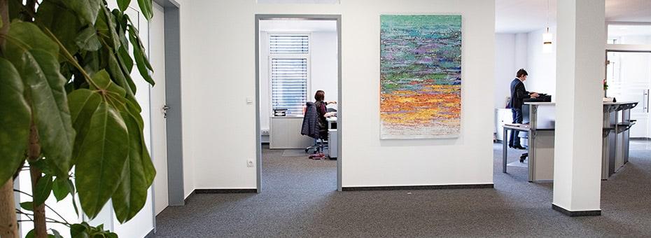 Restemeier Einblick in ein Büro